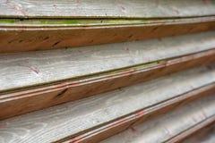 Abstrakt trästaket med trätextur Royaltyfri Foto