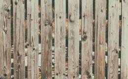 Abstrakt trätextur för staketbakgrundsdetalj Royaltyfria Foton