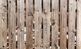 Abstrakt trätextur för staketbakgrundsdetalj Royaltyfri Fotografi