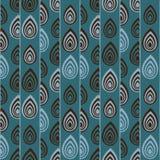 Abstrakt traditionell afrikansk prydnad seamless vektor för modell royaltyfri illustrationer