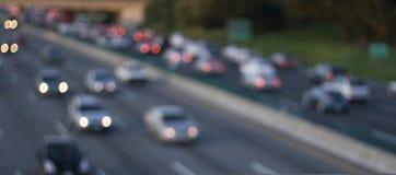 abstrakt trafik Arkivbilder