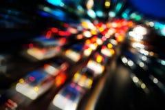 Abstrakt trafik Royaltyfri Foto