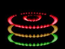 abstrakt trafik för gaslampa Royaltyfria Bilder