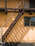 abstrakt trappa Arkivfoto