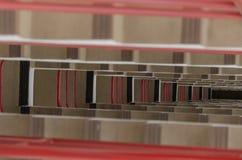 Abstrakt trappa Arkivfoton