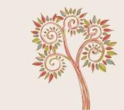 abstrakt tree stock illustrationer