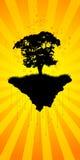 abstrakt tree Arkivbilder