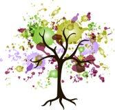 Abstrakt tree Royaltyfri Fotografi
