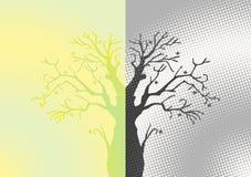 abstrakt tree vektor illustrationer