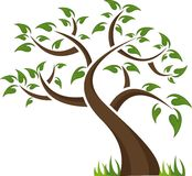abstrakt tree Arkivbild