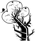 abstrakt tree Arkivfoton