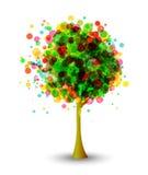 Abstrakt tree Royaltyfria Bilder