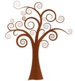 abstrakt treevektor Arkivbilder