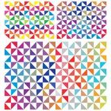 abstrakt triangel Arkivfoton
