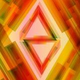 abstrakt triangel Arkivfoto