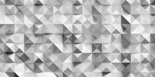 Abstrakt triangel och fyrkant Fotografering för Bildbyråer