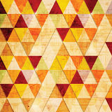 Abstrakt triangelbakgrund. Royaltyfri Bild
