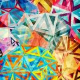 Abstrakt triangelbakgrund Arkivfoto