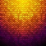 Abstrakt triangelbakgrund för vektor Arkivfoto