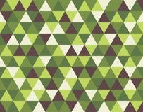 Abstrakt triangelbakgrundsillustration Royaltyfri Foto