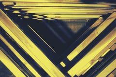 Abstrakt triangelmetall Royaltyfria Bilder