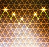 Abstrakt triangelmodellbakgrund Royaltyfria Bilder