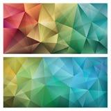Abstrakt triangulär bakgrund Royaltyfri Bild