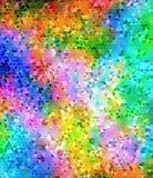 Abstrakt triangulär bakgrund med färgglade fläckar Fotografering för Bildbyråer