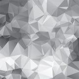 abstrakt triangulär mosaikmodell för vektor Arkivfoton