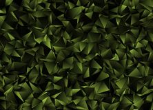 Abstrakt triangulated polygonal bakgrund Royaltyfria Bilder