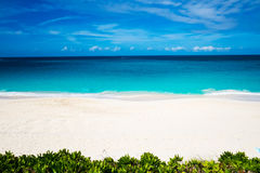 abstrakt tropisk strand Arkivfoto