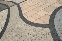 abstrakt trottoar Arkivfoton