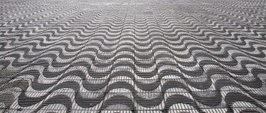Abstrakt trottoardesign Arkivfoton