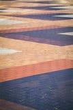 Abstrakt trottoarmodell Royaltyfri Fotografi
