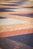 Abstrakt trottoarmodell Royaltyfria Bilder