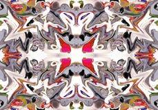 Abstrakt tryck, bakgrund, fractal 226 Royaltyfri Foto