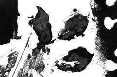 Abstrakt tryck för färgpulver för stencilkonstsvart Fotografering för Bildbyråer