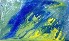 Abstrakt tsunami på ett hav Arkivbild