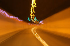 abstrakt tunnel Arkivbilder