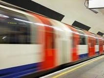 Abstrakt tunnelbana Royaltyfria Bilder