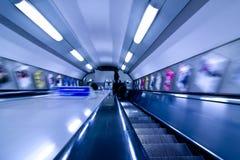 abstrakt tunnelbana Royaltyfria Foton