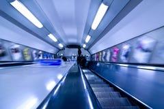 abstrakt tunnelbana Fotografering för Bildbyråer