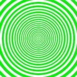 Abstrakt twirling hipnotyczną spiralę royalty ilustracja