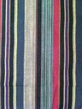 abstrakt tyg för texturplädbomull av färgrik bakgrund Arkivbilder