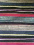 abstrakt tyg för texturplädbomull av färgrik bakgrund Royaltyfri Bild