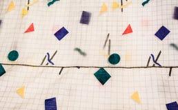 Abstrakt tygtextil Royaltyfria Bilder