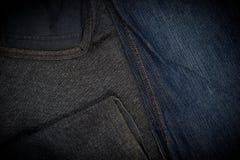Abstrakt tygtexturbakgrund, tygtextur Royaltyfri Foto