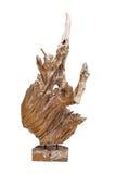 Abstrakt używać jako dekoracja odizolowywająca na bielu korzeniowy drzewo Zdjęcie Stock