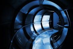 Abstrakt underjordisk industriell avloppsnät Royaltyfri Fotografi