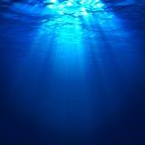 Abstrakt undervattens- bakgrund Royaltyfria Bilder